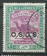 Soudan  -  Service    - Yvert N° 6 Oblitéré     - Cw32225 - Sudan (...-1951)