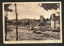 MILLESIMO (SV) - Fiume Bormida Ed Antico Ponte ( Spedita 1938 ) - Savona