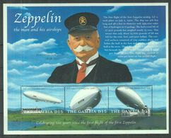 L04. Gambia - MNH - Transport - Zeppelins - Zeppelins