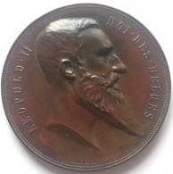 Médaille Bronze. Anvers. Exposition Universelle 1894. Antwerpen. Wereldtentoonstelling.  J. Baetes. 60mm - 82 Gr - Firma's