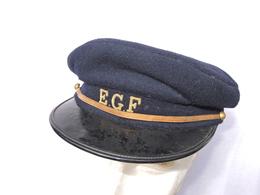 RARE CASQUETTE 1950 E.G.F. = ELECTRICITE & GAZ De FRANCE - Casques & Coiffures
