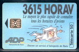 C212 / France F389 3615 HORAV 1993 50U-SC5 (horaire Avion) Grand Embouti - France