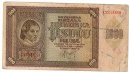Croatia 1000 Kuna 1941 - Croatia