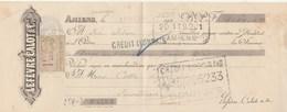 Lettre Change Mandat 10/12/1924 Lefèvre Calot AMIENS Somme  à Cottu Issoudun Indre Cachet + Timbre Fiscal - Bills Of Exchange