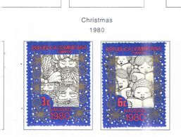 Rep.Dominicana PO 1981 Natale Scott.838+839 Used See Scans On Scott.Page - Dominican Republic