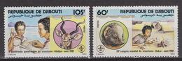 DJIBOUTI Yvert 539-40 – SCOUTING (1981)  MNH - Djibouti (1977-...)