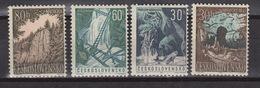 CZECHOSLOVAKIA: Yvert 1284-7 - MNH ** Beautiful Nature  (1963) - Tschechoslowakei/CSSR