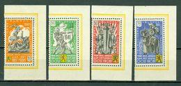 1941 E 22/25** MNH Légion Flamande Antibolcheviste / Vlaams Legioen Tegen Het Bolsjevisme. - Commemorative Labels