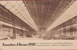 Antwerpen  Anvers  Wereldtentoonstelling 1930 Charpente Couverture Omega Avec Plafond Delta - Antwerpen