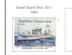 Rep.Dominicana PO 1984 Guardia Costiera   Scott.903 Nuovo/Used See Scans On Scott.Page - Dominican Republic