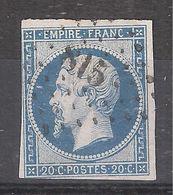 Empire N° 14 Obl Pc 815 De CHATILLON Sur SEINE, Cote D'Or , TB - 1853-1860 Napoléon III