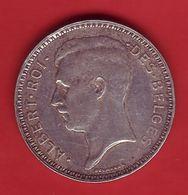 - BELGIQUE - 20 Francs - 1934 - Argent - - 1909-1934: Albert I