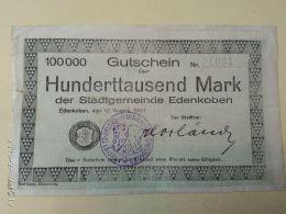 Edenkoben 100000 Mark 1923 - [11] Emissioni Locali