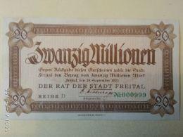 Freital 20 Milioni Mark 1923 - [11] Emissioni Locali