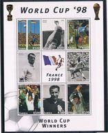 Zambia 1998 Kleinbogen ** - Zambia (1965-...)