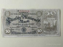 Hamburg 50 Milioni Mark 1923 - [11] Emissioni Locali