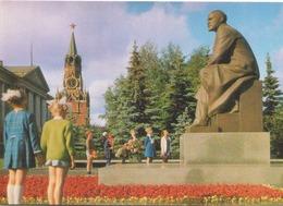 RUSSIE MOSCOU LE MONUMENT DE LENINE AU KREMLIN - Russia