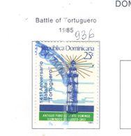 Rep.Dominicana PO 1985 Battaglia Tortuguero  Scott.936 Nuovo/Used See Scans On Scott.Page - Repubblica Domenicana