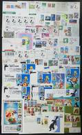 4 TOPIC DISNEY: About 55 Covers, Cards Etc. Of The United States, With Cancels Or Pos - Disney
