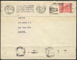"""7 TOPIC PHOTOGRAPHY: """"Cover Used In Argentina In NOV/1959, With Machine Cancel With S - Photography"""