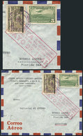 """8 TOPIC FOOTBALL: """"Cover Sent To Argentina On 28/FE/1941 With Advertising Handstamp A - Soccer"""
