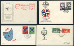 10 TOPIC NATO (OTAN): 31 Covers Related To Topic NATO, Very Fine General Quality (few - Stamps