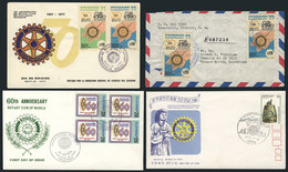 15 TOPIC ROTARY: 20 Covers Related To Topic ROTARY, Very Fine Quality, Very Little Dup - Rotary, Lions Club