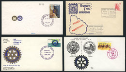 16 TOPIC ROTARY: 20 Covers Related To Topic ROTARY, Very Fine Quality, Very Little Dup - Rotary, Lions Club