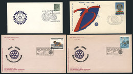 18 TOPIC ROTARY: 24 Covers Related To Topic ROTARY, Very Fine Quality, Very Little Dup - Rotary, Lions Club