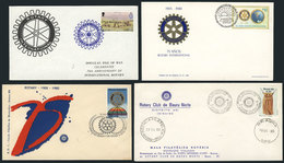 20 TOPIC ROTARY: 22 Covers Related To Topic ROTARY, Very Fine Quality, Very Little Dup - Rotary, Lions Club