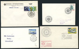 21 TOPIC ROTARY: 23 Covers Related To Topic ROTARY, Very Fine Quality, Very Little Dup - Rotary, Lions Club
