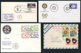 24 TOPIC ROTARY: 20 Covers Related To Topic ROTARY, Very Fine Quality, Very Little Dup - Rotary, Lions Club