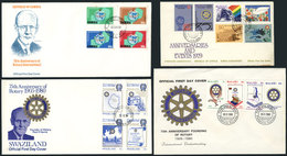 26 TOPIC ROTARY: 21 Covers Related To Topic ROTARY, Very Fine Quality, Very Little Dup - Rotary, Lions Club
