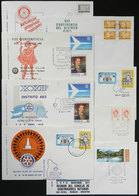 27 TOPIC ROTARY: 47 Covers Of Argentina With Special Postmarks Related To Topic ROTARY - Rotary, Lions Club