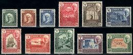 30 ADEN - QUAITI: Sc.1/11, 1942 Cmpl. Set Of 11 Mint Values, VF Quality, Catalog Value - Aden (1854-1963)