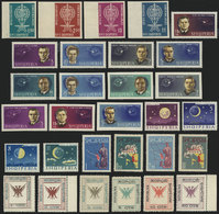 38 ALBANIA: Lot Of VERY THEMATIC Sets And Souvenir Sheets, Almost All Unmounted And Of - Albania