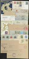 41 GERMANY: 18 Covers Or Cards Of 1900-1946, Including A Good Number Of POW Covers, Ver - Germany