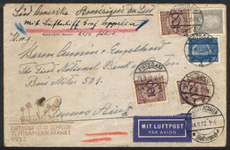 45 GERMANY: Cover Sent By ZEPPELIN To Argentina On 26/SE/1932, With Arrival Backstamp O - Germany