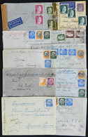 47 GERMANY: 10 Covers Or Cards Sent To Argentina Between 1939 And 1943, Almost All CENS - Germany