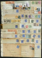 55 GERMANY: 35 Covers Or Cards Sent To Argentina Between 1939 And 1945, Almost All CENS - Germany