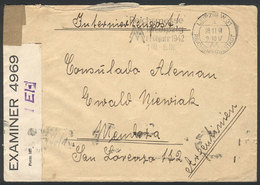59 GERMANY: Cover With Free Frank Of POWs, Sent On 28/NO/1941 From Leipzig To The Sailo - Germany