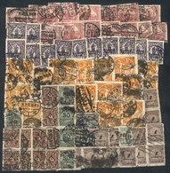 64 GERMANY: Lot Of Used Stamps, Including Several Pairs And Strips, General Quality Is - Germany