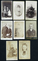 71 GERMANY: Circa 1850/1880, 27 Photographs Of A Family That EMIGRATED TO ARGENTINA, Su - Books, Magazines, Comics