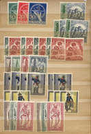73 GERMANY - BERLIN: Small Stock Of Used And Mint Stamps And Sets In Stockbook, Very Fi - Unclassified