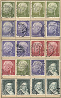 86 WEST GERMANY: Lot Of Stamps And Sets Mounted In An Approval Book (and Some Not Mount - [7] Federal Republic