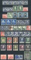 87 WEST GERMANY: Selection Of Good Used Values (years 1949 To 1954), Very Fine General - [7] Federal Republic