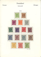88 WEST GERMANY: Collection On Pages (1949 To 1979, Almost Complete), Used Or Mint Stam - [7] Federal Republic