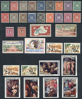 93 UPPER VOLTA: Lot Of VERY THEMATIC Sets And Souvenir Sheets, Most Unmounted, Some Old - Stamps