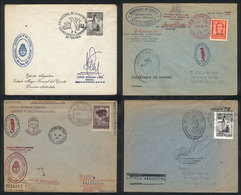101 ARGENTINE ANTARCTICA: 3 Covers With Postmarks Of Orcadas Del Sur (1963/4, One Sent T - Argentina