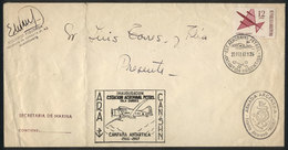 103 ARGENTINE ANTARCTICA: Inauguration Of The Petrel Naval Air Base, Cover With Postmark - Unclassified